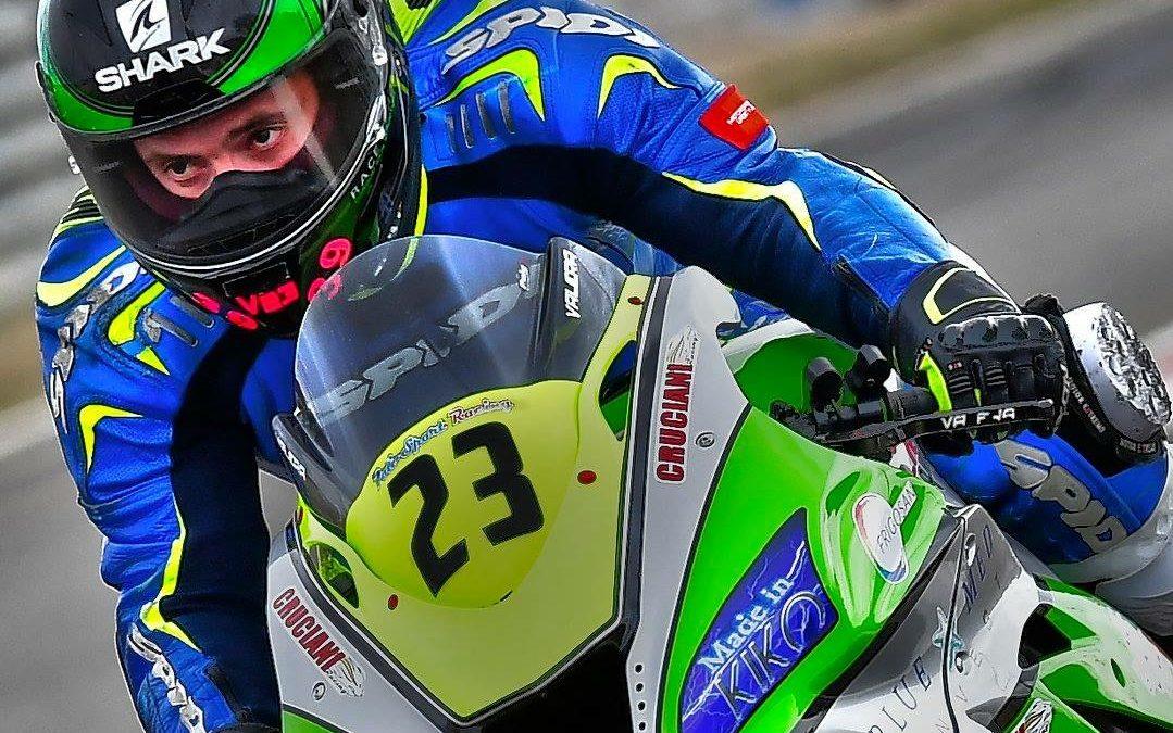 Antonio Valera tercero en Jerez en la 1000cc