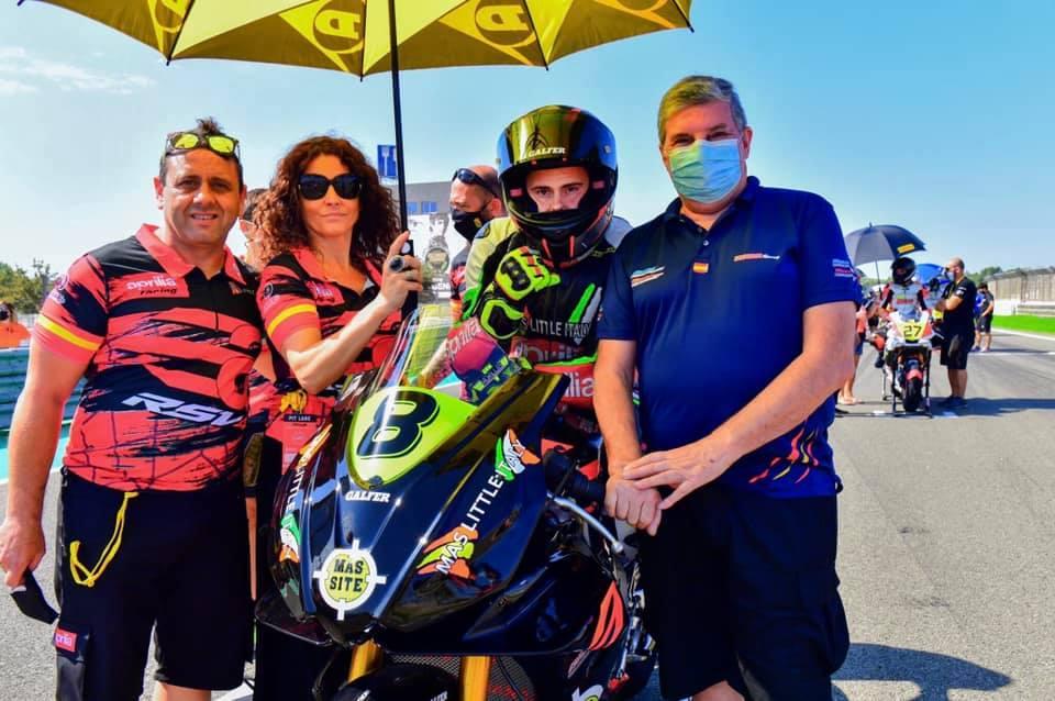Cruciani Racing y #8 Erik Morrillas de Mas Little Italy